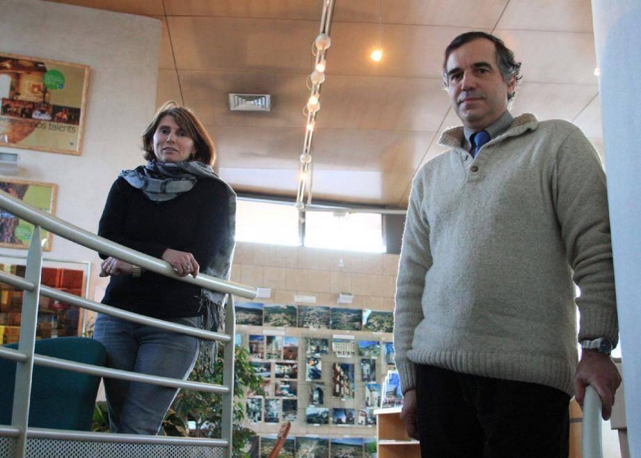 Bernard Vaillot et Nathalie Roubaud, président et vice-présidente de l'Office intercommunal du tourisme, souhaitent disposer de moyens supplémentaires afin d'offrir à l'activité touristique le rayonnement qu'elle mérite.