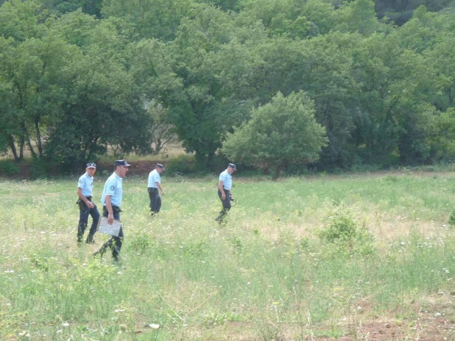 Les gendarmes avaient activement recherché Marttial Damiano fin juillet, après sa disparition de l'hôpital du Luc.