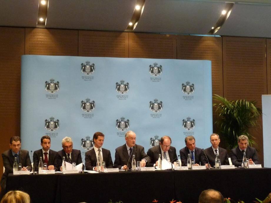 Le conseil stratégique pour l'attractivité s'est réuni autour du ministre d'É tat Michel Roger pour écouter les différents comptes rendus des commissions associées au projet.