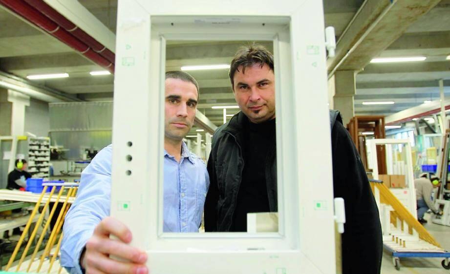 Jean-David Pautet, responsable d'exploitation de F2I, et Gilles d'Antoni.