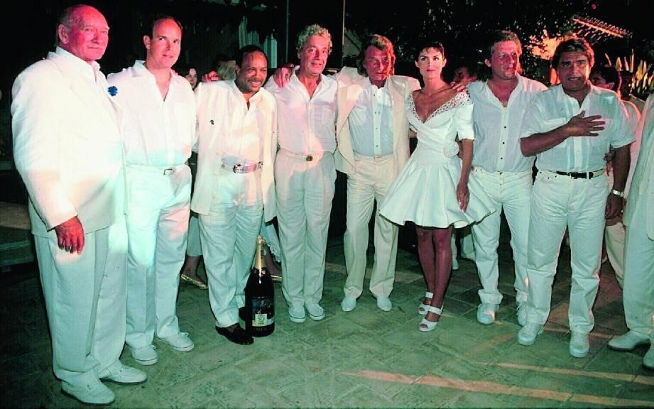 Dans les années 80, avec Caroline Barclay, ses soirées blanches à sa maison du cap Camarat accueillaient un casting de luxe, dont le Prince Albert, Quincy Jones, Johnny Hallyday, Patrick Sébastien ou encore Bernard Tapie.