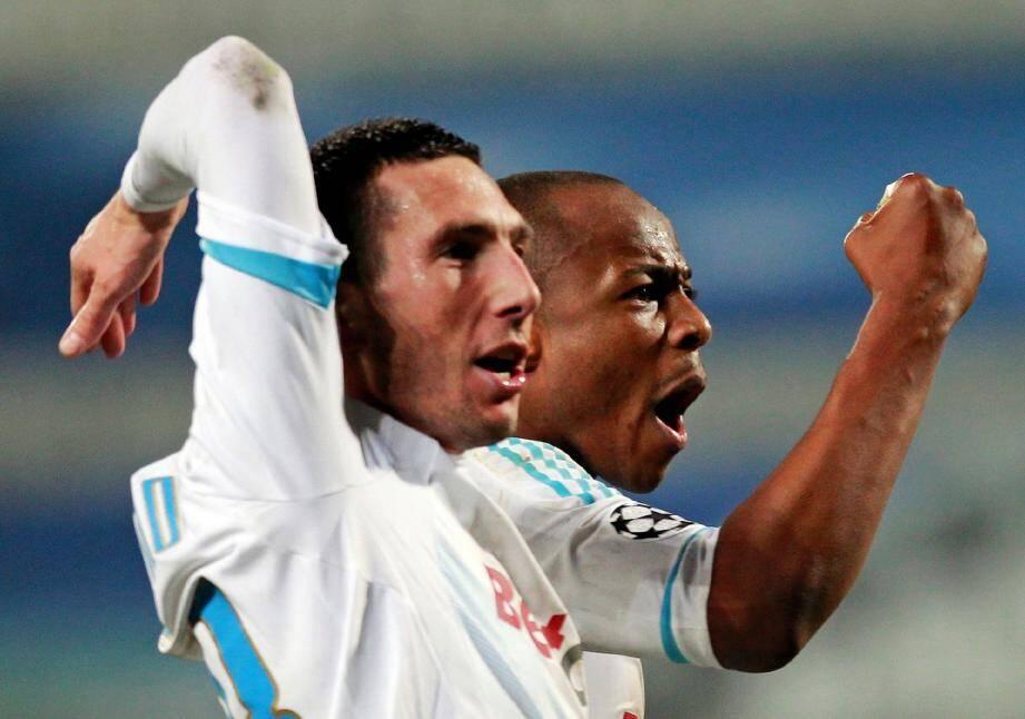 Morgan Amalfitano (ici lors de la victoire de l'OM face à l'Inter), rejoint un autre Niçois, Hugo Lloris, en Bleu.