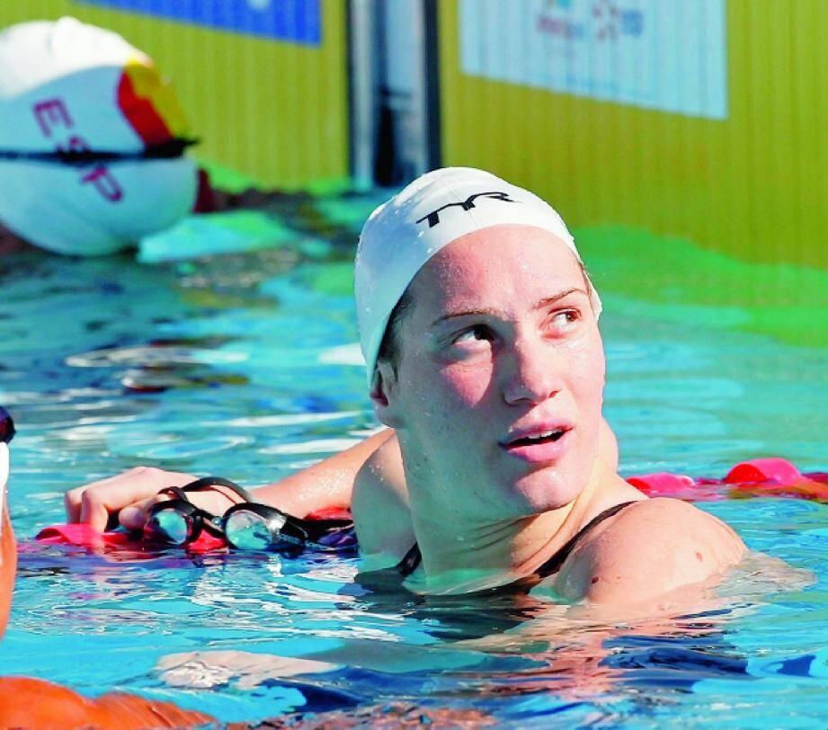 2e performance mondiale de l'année pour la Niçoise Camille Muffat sur 400 m nage libre.(Photo Reuters)