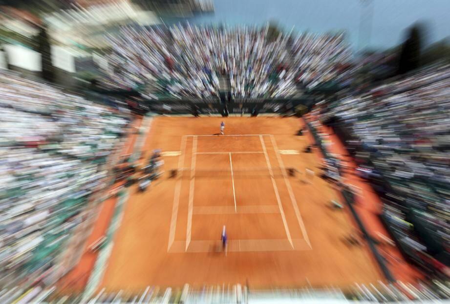 Le court central du Monte-Carlo Country-club va abriter la Coupe Davis. (Reuters)