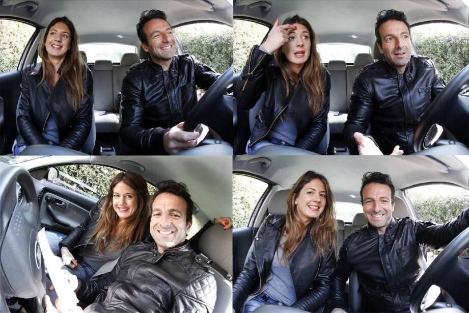 Laurent Mouton et Julie Vallotti ont déjà effectué une dizaine de tournages de la série En voiture ! D'autres seront prochainement mis en ligne.