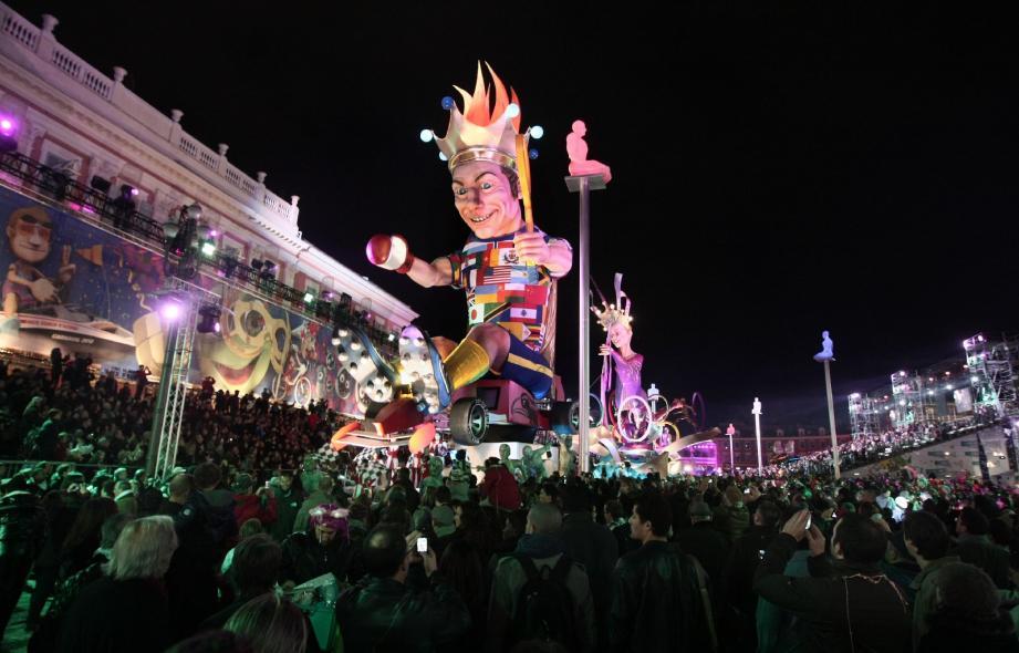 Carnaval 2012 : le «Roi du sport» se traduit par un succès, non seulement esthétique, mais également financier et médiatique.
