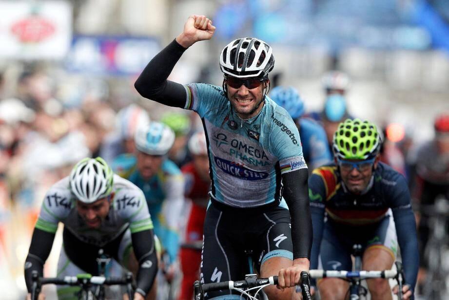 Un retour gagnant sur le Paris-Nice pour Tom Boonen qui a signé hier la 100e victoire de sa carrière.