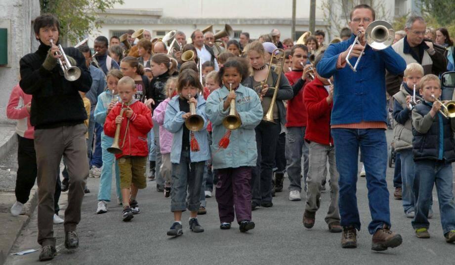La fanfare de la Touffe animera le corso carnavalesque.