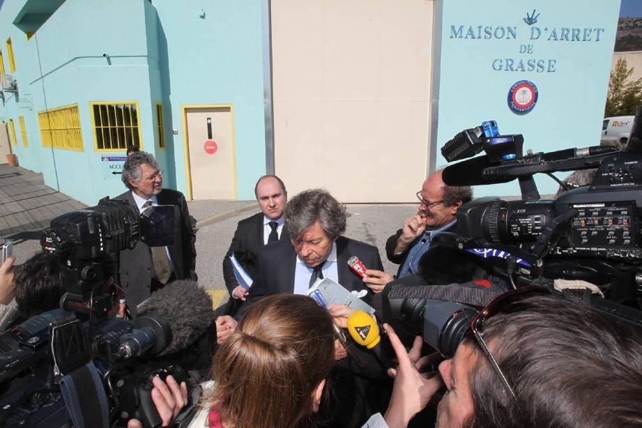 Les avocats de christian Iacono, Me Jean-Louis Pelletier, Me Dominique Roméo et Me Gérard Baudoux se veulent optimistes.