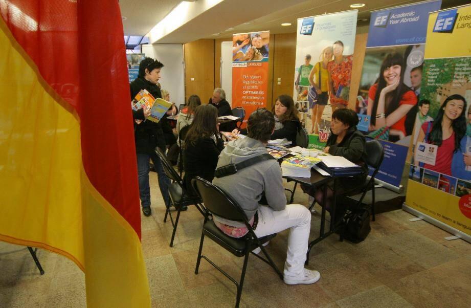 Le forum des séjours linguistiques organisé par le Gape aura lieu comme chaque année, salle Louis-Blanc, samedi 17 mars. Les éditions précédentes avaient connu un solide succès auprès des parents, mais aussi des jeunes.