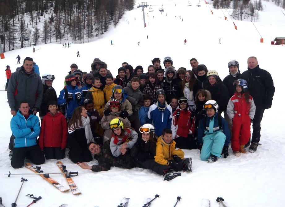 Détente, dépaysement et émotions fortes pour les jeunes skieurs.