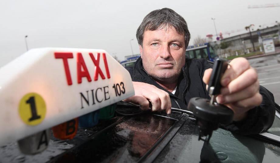 Max Roy, président du Syndicat des taxis de Nice : « Nous sommes 437, il peut y avoir parmi nous quelques brebis galeuses. »