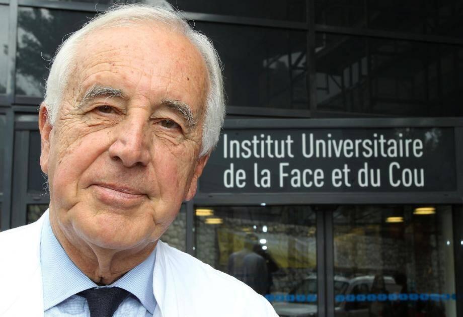 Chrirugien bâtisseur, le professeur François Demard est à l'origine de cette union entre le centre Antoine-Lacassagne et le CHU pour constituer ce pôle de référence pour les pathologies de la face et du cou.