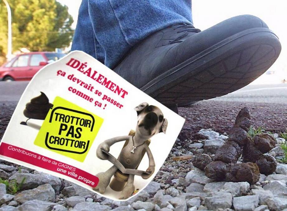 Les chiens « s'oublient » sur les trottoirs… leurs maîtres aussi. En oubliant, eux, de ramasser les déjections canines sur la voie publique.