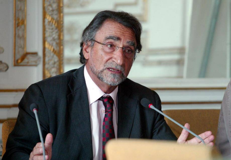 Le président de l'Université de Nice-Sophia Antipolis, Albert Marouani.