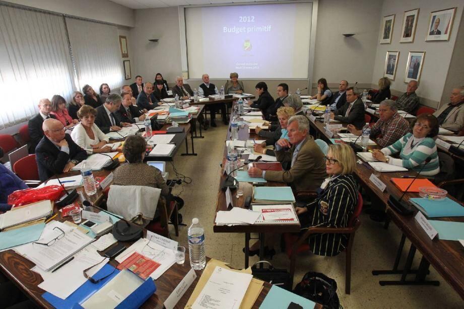 Le vote du budget primitif a ouvert la séance du conseil municipal hier.