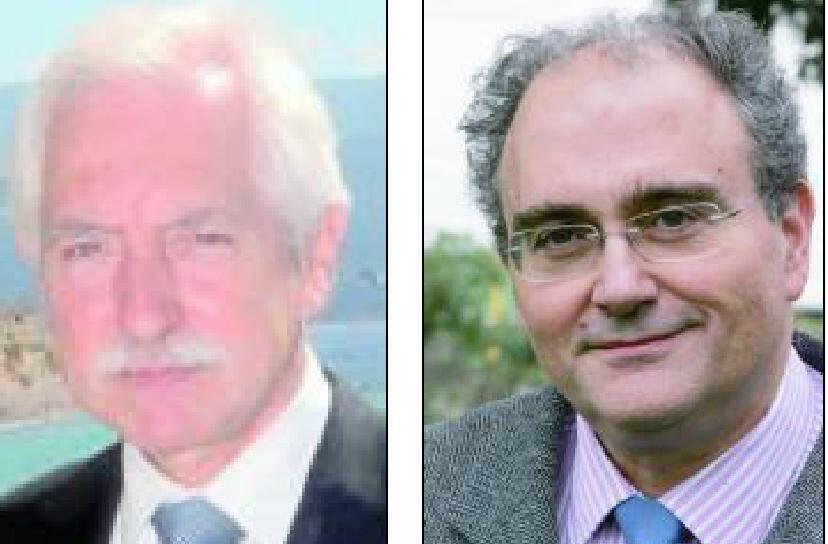La lettre de G. Couturier (à gauche) en dit long sur la dégradation des relations entre la CTC et la SNCM. De son côté, le président du conseil exécutif de Corse Paul Giacobbi (à droite) va-t-il prendre Gérard Couturier au mot ?