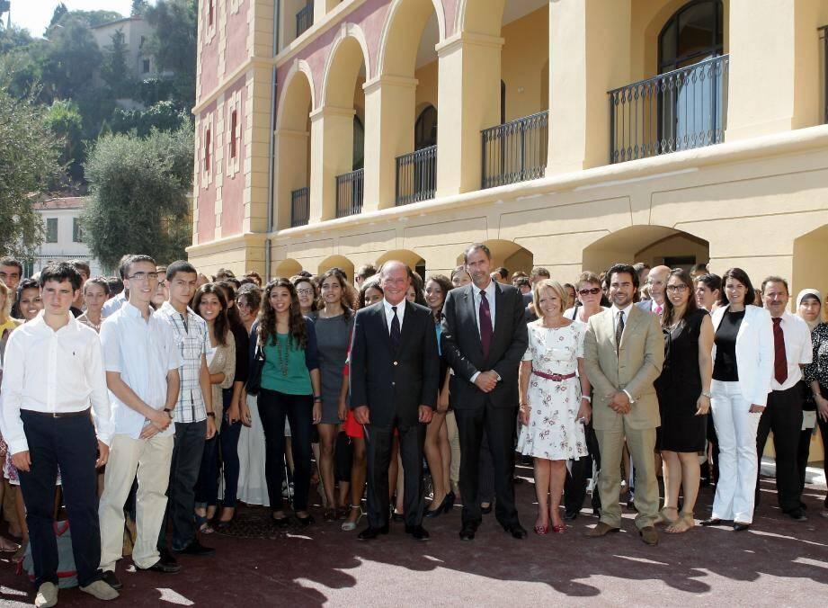 Le 21 octobre dernier, Richard Descoings était venu inaugurer le nouveau campus de Sciences Po dans les locaux de Saint-Julien.