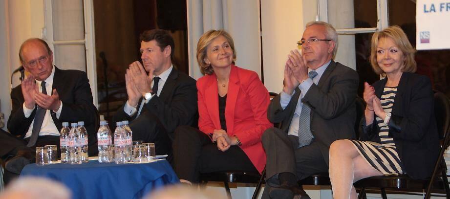 Invitée de marque, hier soir, au Palais de l'Europe, Valérie Pécresse, porte-parole du gouvernement.