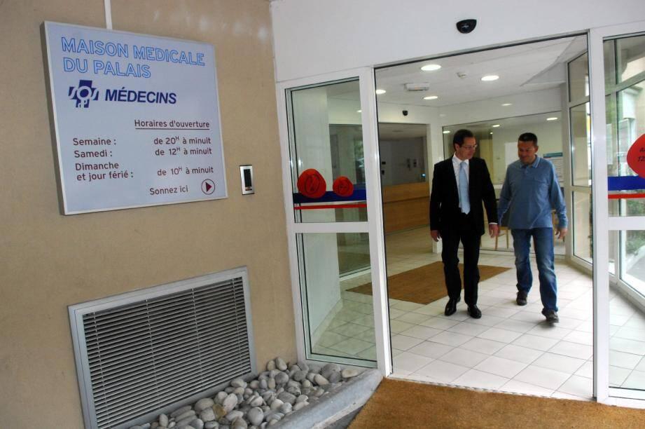 Ouverte l'été dernier, la maison médicale de la clinique du Palais a notamment séduit les patients qui souhaitent consulter le week-end et en dehors des horaires de cabinet.