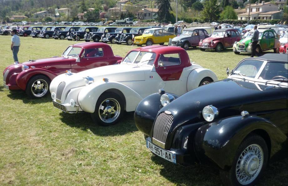 Les passionnés de Citroën, qu'elles soient de série ou non, seront comblés
