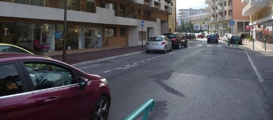 Côté Roquebrune, l'élargissement des trottoirs comme le stationnement satisfont un grand nombre de personnes.