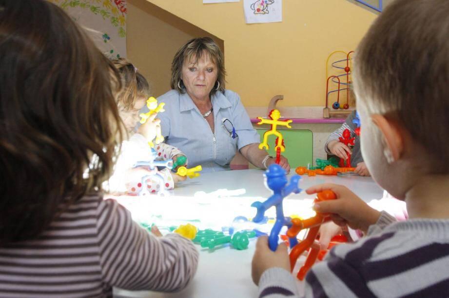 A la crèche des « Petits Princes », tout est structuré pour que les bébés soient placés dans les meilleures conditions.
