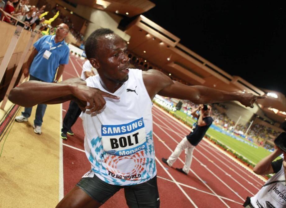 Le sprinteur jamaïcain retrouvera cet été le stade Louis-II.