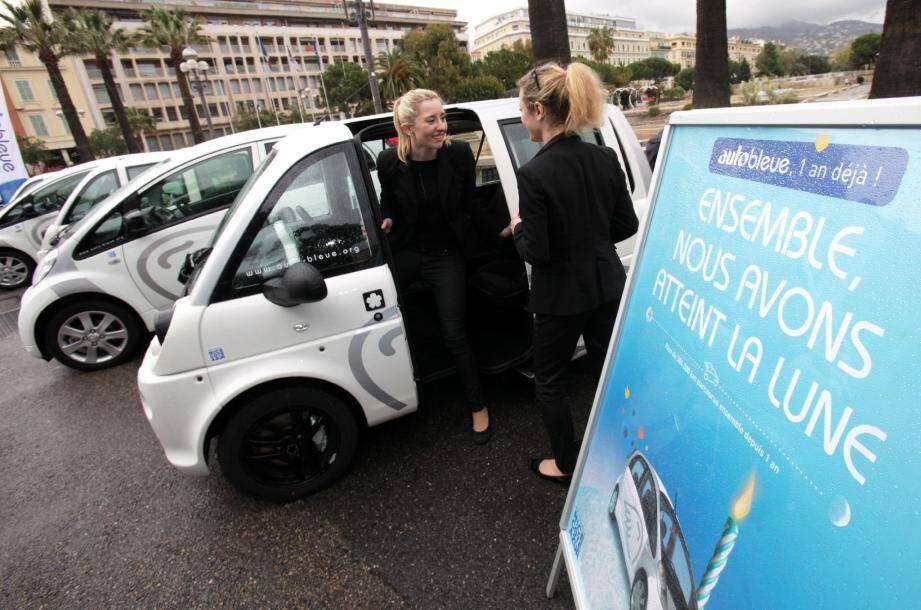 L'Autobleue va encore se développer cette année avec la mise en service de 80 nouveaux véhicules et la création de 28 stations de plus.