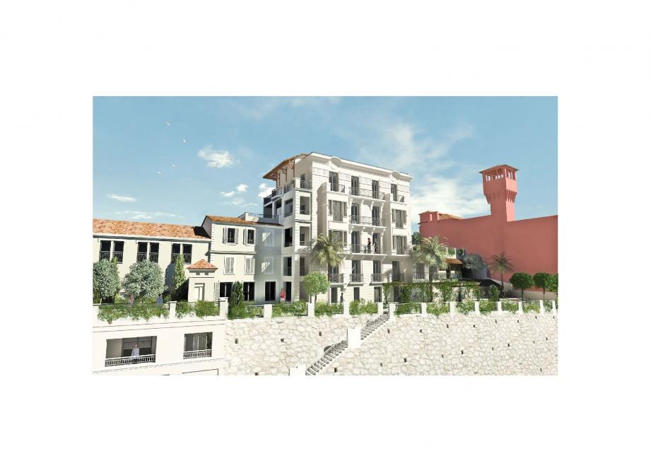 La résidence le Belvedere, située avenue Yves-Emmanuel Baudoin et dont les travaux débuteront au mois de mai, sera l'une des premières résidences de grand standing de la commune.