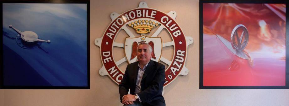 Christian Proud-Diaz, président de l'Automobile club de Nice, perpétue des traditions vieilles de plus d'un siècle.