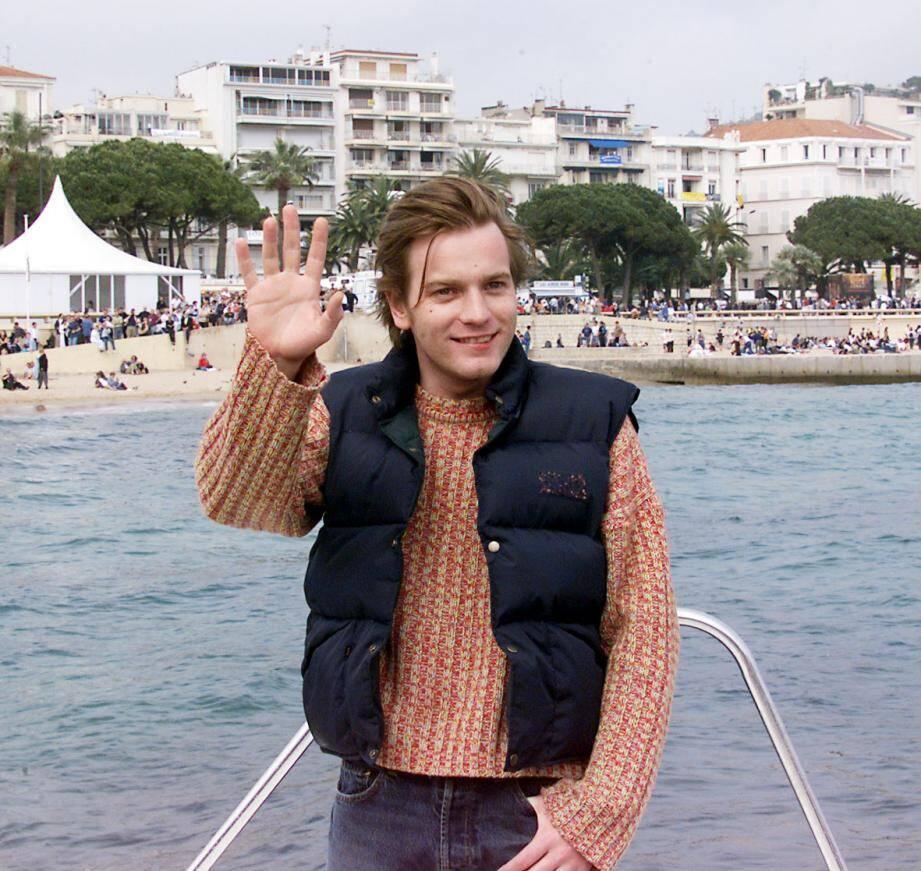 Ewan McGregor à Cannes en 1999.