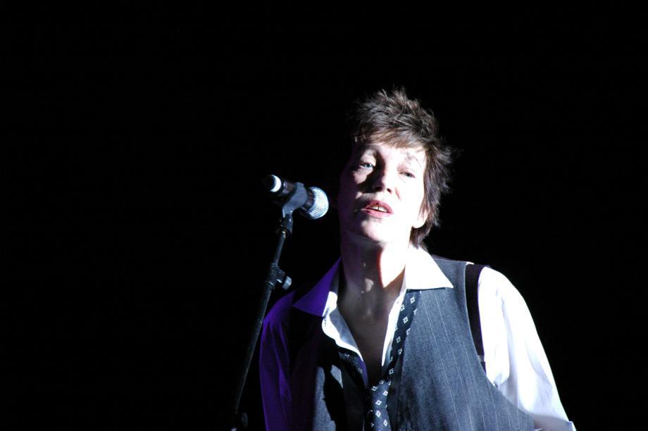 Jane Birkin en 2009 dans le Var.