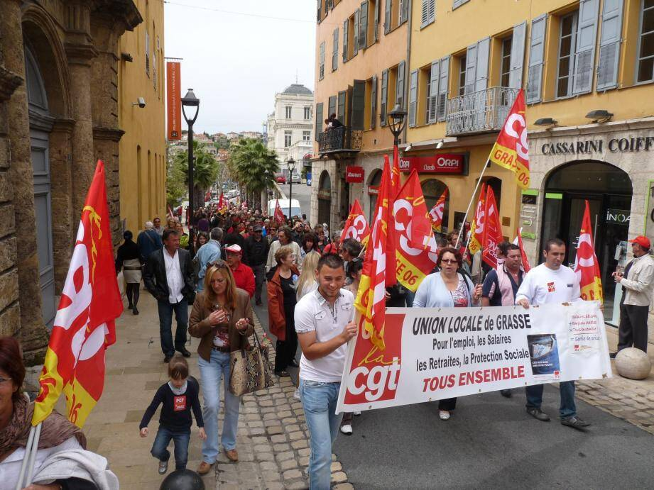 Le convoi est parti du cours Honoré-Cresp pour rejoindre la Bourse du Travail, dans la vieille ville.