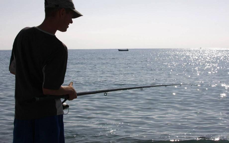 L'événement du salon cette année sera le concours de surfcasting (pêche depuis la côte), du port de Nice jusqu'à Cagnes.(Ph. Olivier Ogéron)