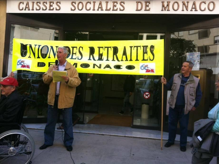 Henri Taddone, président de l'Union des retraités de Monaco, a dénoncé le 28 mars dernier, devant les Caisses sociales, le projet de loi. Mais le processus de réforme est bel et bien lancé.