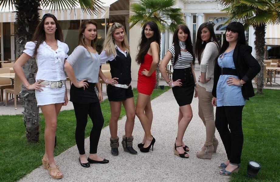 Hier après-midi, sept jeunes filles se sont présentées au casting de Miss Menton 2 012… Qui sera la grande gagnante ?