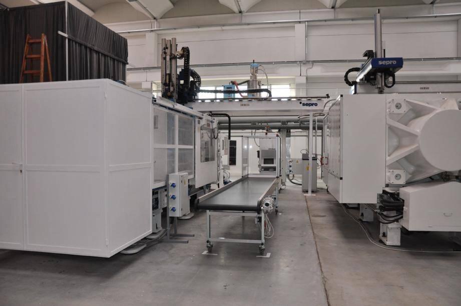 Une vue de l'usine de Zrenjanin qui devrait être pleinement opérationnelle en juillet.(DR)