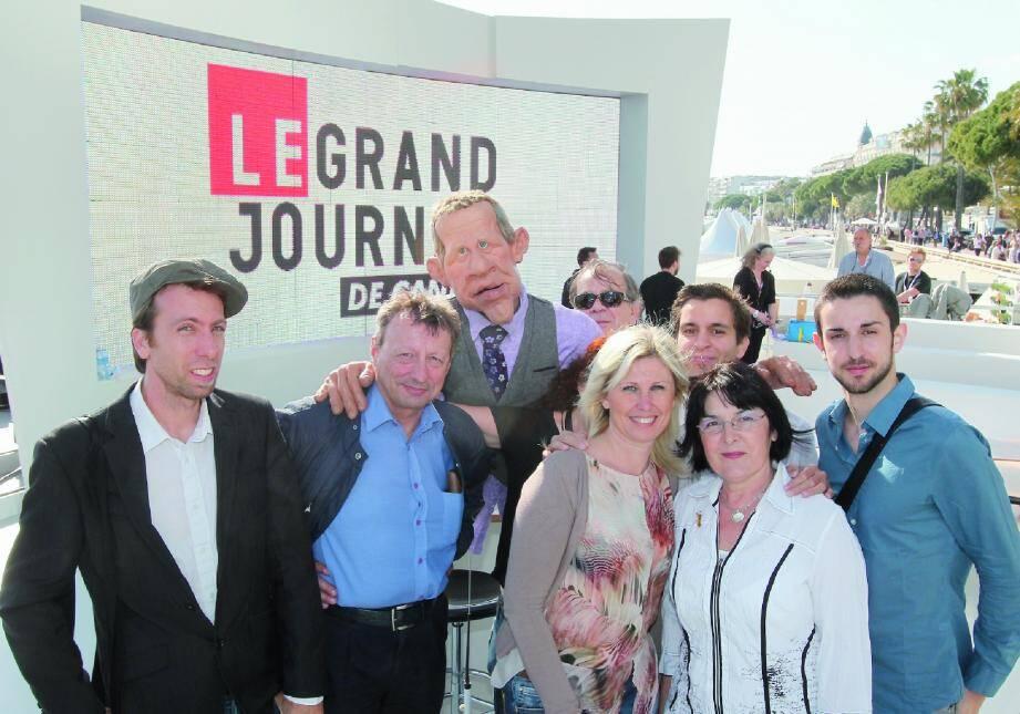 PPD, le présentateur-vedette des Guignols de l'info, a accordé un long moment à nos six lecteurs. Une rencontre inoubliable.