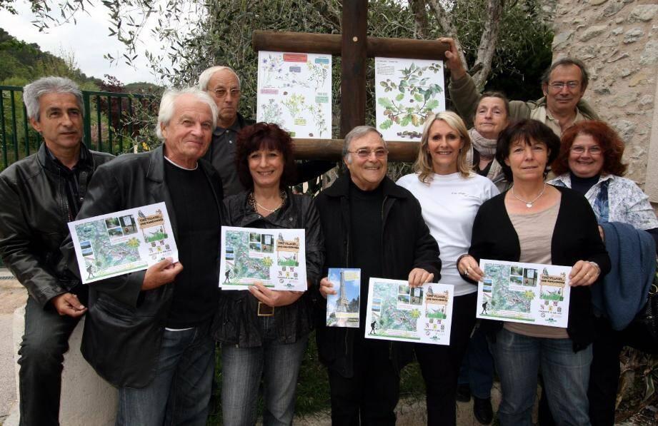 La Rando des 5 villages partira le 20 mai de la place Camous, à l'Escarène. Deux parcours de 12 ou 20 km sont proposés.