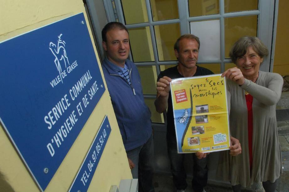 L'équipe du service hygiène et santé de la Ville sur le pied de guerre pour éradiquer les moustiques.