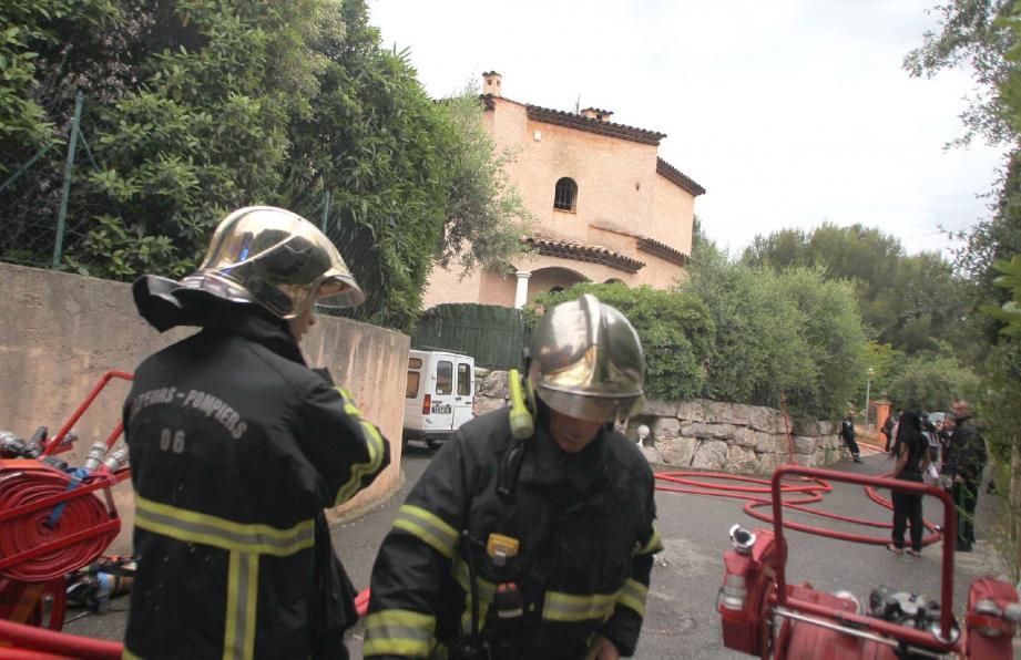 Les pompiers sont intervenus en force pour éviter le pire.