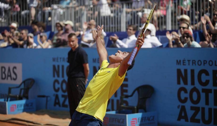 Nicolas Almagro remporte l'Open de Nice.