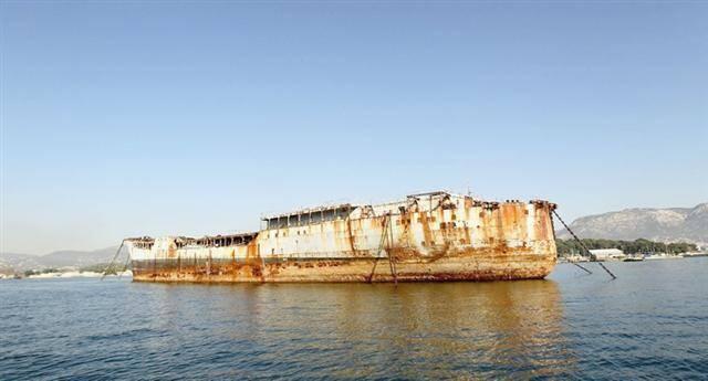 La Saône fait partie des trois premiers navires de la Marine qui seront bientôt déconstruits.