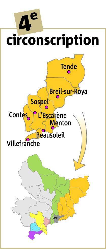 La 4e circonscription des Alpes-Maritimes.
