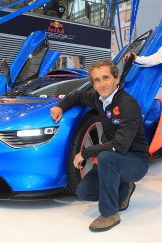 Alain Prost était notamment présent