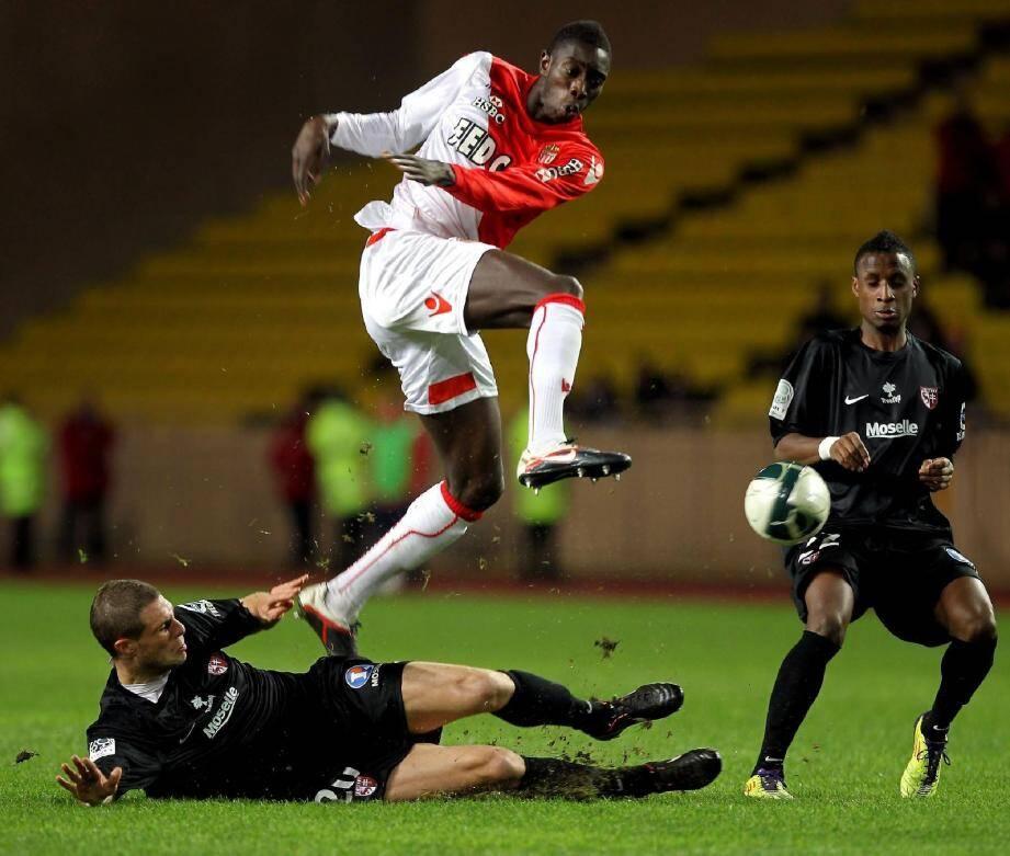 Yatabaré passe Bouby mais Monaco ne franchira jamais l'obstacle messin.