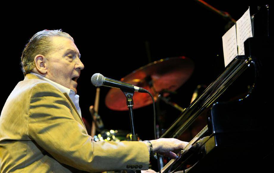 Jerry Lee Lewis. 	(Reuters)