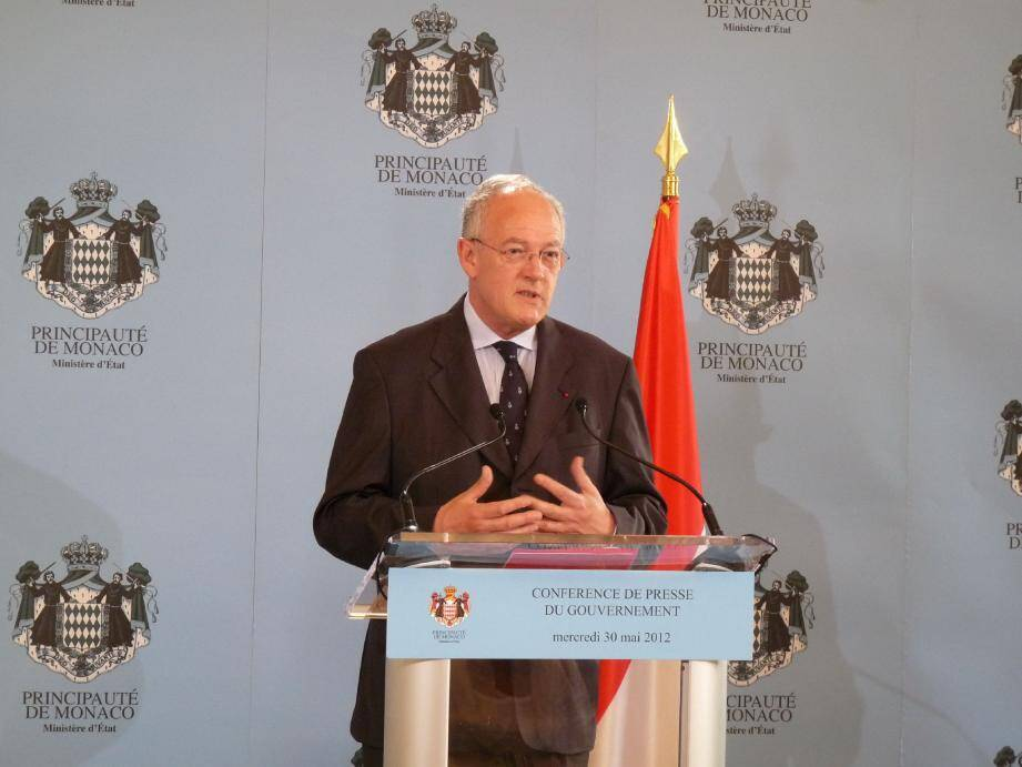 Michel Roger, le ministre d'Etat, a annoncé la poursuite de la campagne de communication à l'automne pour promouvoir l'attractivité de la Principauté.
