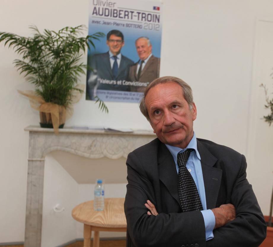 Gérard Longuet hier dans le Var.